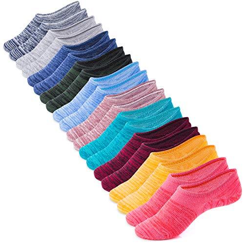 IDEGG No Show Socks Anti-Slid Casual Cotton Socks