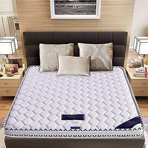 XHNXHN Colchón Plegable, colchón de Coco ecológico para niños, colchón Firme y silencioso, colchón de Suelo portátil para el Dormitorio del hogar, Blanco 100x200cm (39x79in)