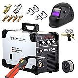 STAHLWERK MIG 200 ST IGBT- Vollausstattung - MIG MAG Schutzgas Schweißgerät mit 200 Ampere, FLUX Fülldraht geeignet, mit MMA E-Hand, weiß, 7 Jahre Garantie