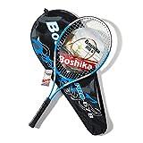 Lixada Raqueta de Tenis de Aleación de Aluminio Ligera a Prueba de Golpes con Bolsa de Transporte de Tenis de Entrenamiento y Agarre de Tenis