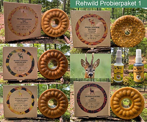 wildlutscher Lockmittel Probierpaket Rehwild Nr 1