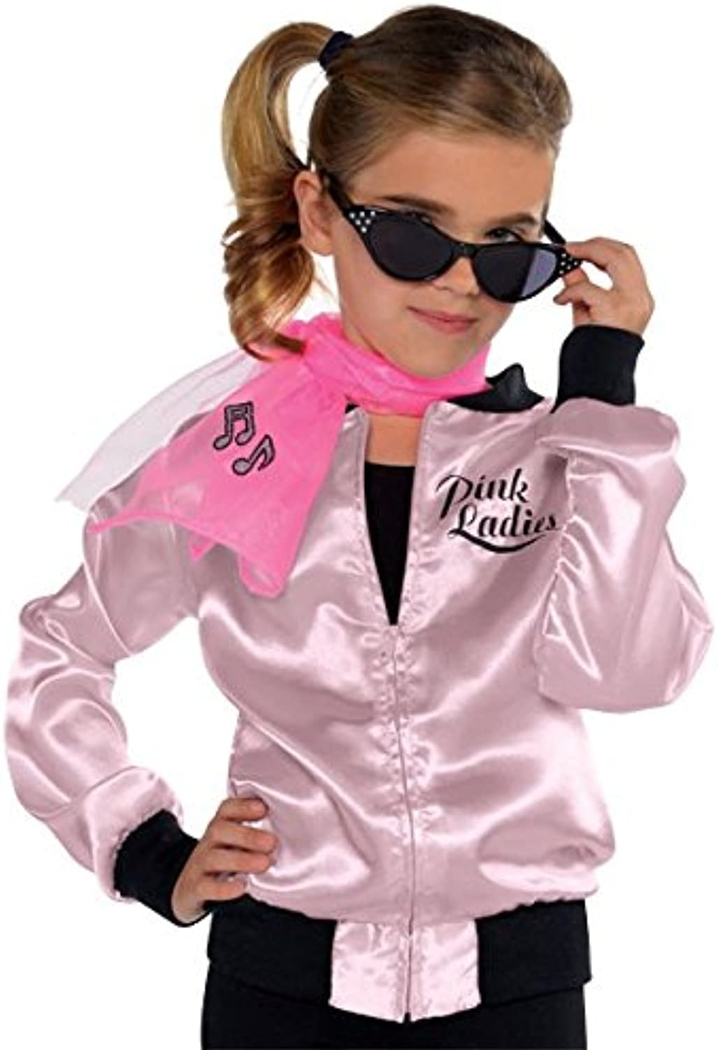 Amscan Ladies Fabulous '50s Costume Party Jacket (1 Piece), Pink, One Size