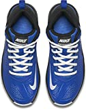 Nike Boy's Team Hustle D 7 Basketball Shoe Game Royal/White/Black Size 11 Kids US