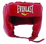 Everlast 340 - Casco de protección para Boxeo Rojo Rojo Talla:S/M