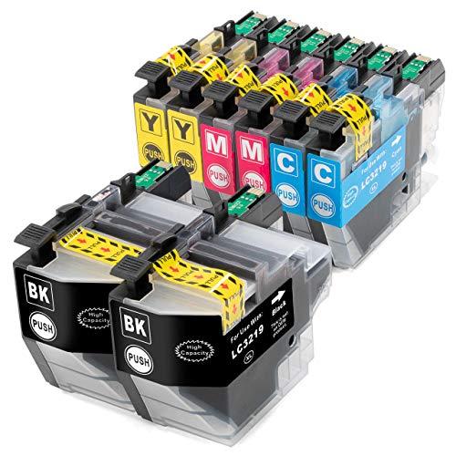 ESMOnline 8 kompatible XL Druckerpatronen (4 Farben) als Ersatz für LC-3219/LC-3217 zu Brother MFC J5330DW J5335DW J5730DW J5930DW J6530DW J6930DW J6935DW