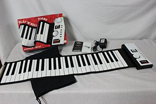 Sharper Image Play 'N' Roll Digital Piano Gu001