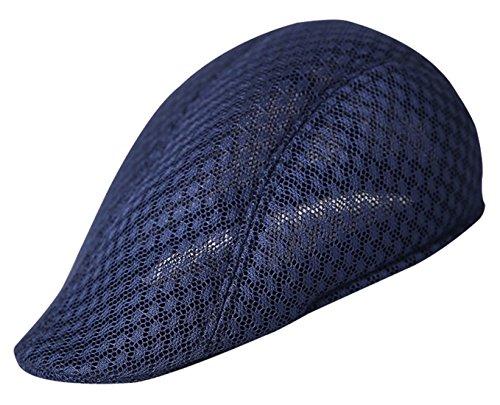 AIEOE Gorra Boina Mallas Sombrero Visera Protección