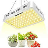 LIGHTIMETUNNEL LED Grow Light Full Spectrum 300W, Reflector LED Plant Growing Light with Heatproof Casing, for Greenhouse Hydroponic Indoor Plant Growth