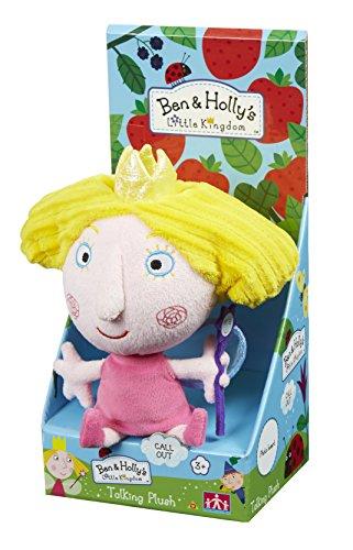 Le Petit Royaume de Ben et Holly – Holly – Peluche Parlant Anglais 18 cm – Modèle Aléatoire