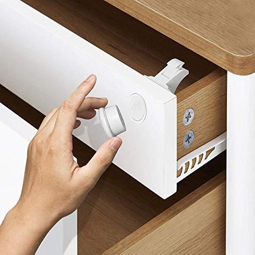 Cerraduras Magnéticas de Seguridad para Bebés y Niños -