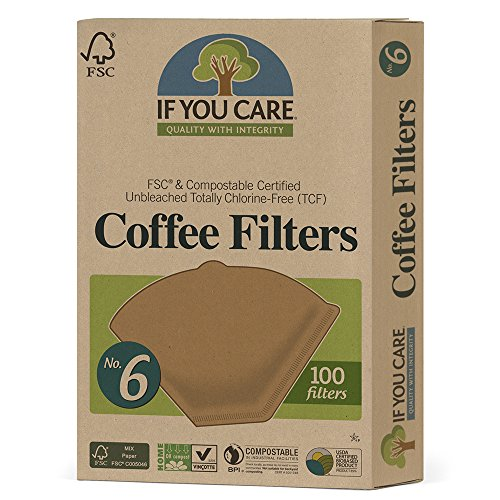 If You Care - Iyc Coffee 100 Filters, #6 (Pack of 2)