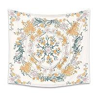 タペストリー インドの曼荼羅ウォールは、リビングルームのベッドルームのためのインテリアハンギングフラワーサイケデリックタペストリーウォールハンギングボヘミアン (Color : 1, Size : 150x130cm)