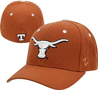 Zephyr Texas Longhorns DHS Fitted Cap