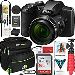 This Certified Refurbished product is refurbished to factory specifications, it shows limited or no wear Includes all original accessories plus a 90 Day Warranty Nikon COOLPIX B600 16MP 60x Optical Zoom Wi-Fi Digital Camera Black INCLUDED IN THE BOX:...