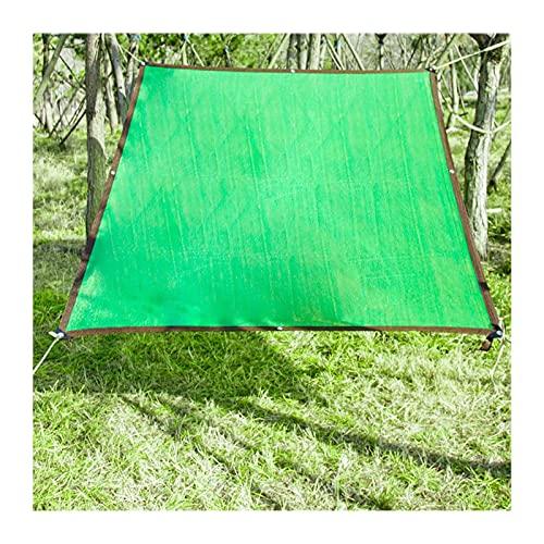 AWSAD Red De Sombrilla Paño de Parasol Engrosamiento del Cifrado Resistente a Los Rayos Ultravioleta por Patio Intimidad Playa Verde, 24 Tamaños (Color : Green, Size : 10x20m)