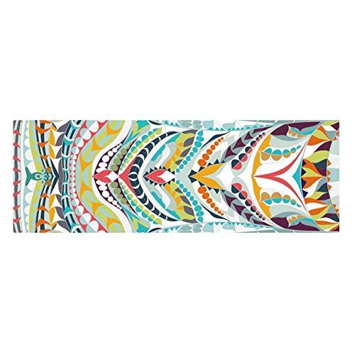 Toalla de yoga Toalla Yoga Mat - 185x63cm Yoga Impreso Toalla antideslizante aptitud del entrenamiento de Pilates Mat cubierta for el Gym Yoga Mantas Adecuado para varios propósitos. ( Color : #020 )
