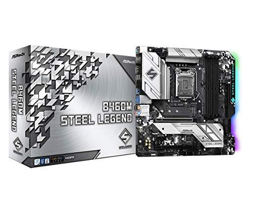 ASROCK B460M Steel Legend Soporta 10th Gen Intel® CoreTM Processors(Socket 1200) Placa Base