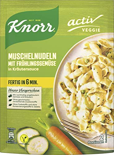 Knorr activ Penne mit Broccoli und Frühlingskräutern, 146 g