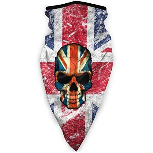 RUIN United Kingdom British Flag Outdoor Face Mouth Face sacrf Windproof Sports Face sacrf Ski Face sacrf Shield Scarf Bandana Men Woman