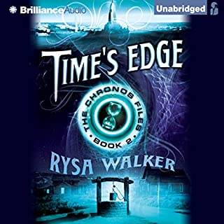 Time's Edge     The Chronos Files, Book 2              By:                                                                                                                                 Rysa Walker                               Narrated by:                                                                                                                                 Kate Rudd                      Length: 13 hrs and 28 mins     2,131 ratings     Overall 4.5