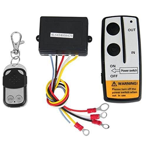 Luwu-Store Volt Kit de télécommande sans fil pour Jeep ATV Treuil 12 V Auto Voiture Camion sans fil