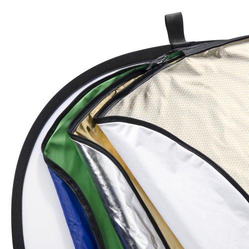 Walimex 7 en 1 - Reflector Plegable (91 x 122 cm, 7 Fundas Diferentes)