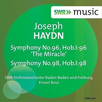 Haydn: Symphonies Nos. 96 & 98