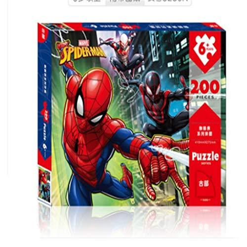 Lfixhssf 200 Piezas de Rompecabezas for niños-Cada Rompecabezas es único, los Puzzles Son Perfectamente hilvanada Lfixhssf
