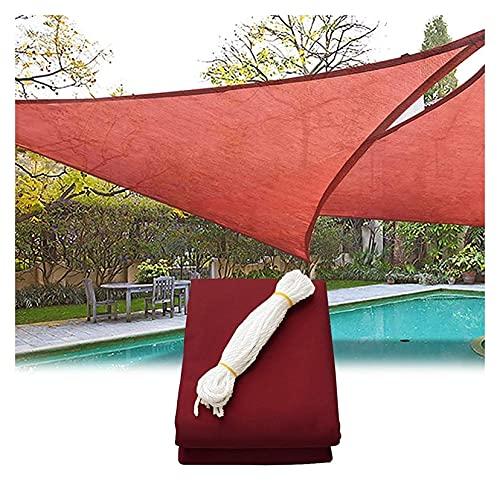 CSD Patio al aire libre de agua resistente al jardín Sol de agua Sombra de sol - Toldo del triángulo Shade Spade - para la protección del sol al aire libre Patio de jardín, impermeable, Pool Canopy Sh