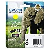 Epson original–Epson Expression Photo XP–960(24x L/C 13T 24344010)–Cartuccia di inchiostro giallo–500pagine–8,7ml