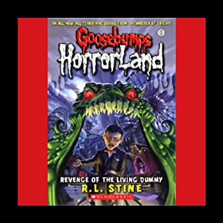 Goosebumps HorrorLand, Book 1 audiobook cover art