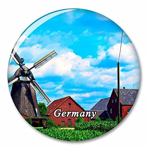Deutschland Donsbruggen Windmühle Kühlschrank Magnete Dekorative Magnet Flaschenöffner Tourist City Travel Souvenir Collection Geschenk Starker Kühlschrank Aufkleber