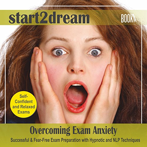"Guided Meditation ""Overcoming Exam Anxiety"" audiobook cover art"