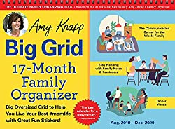 The Best Wall Calendars for Busy Families - big grid
