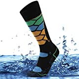 SuMade Waterproof Cycling Socks, Women Youth Boys Kayaking Socks Long Knee Length Warm Lightweight...