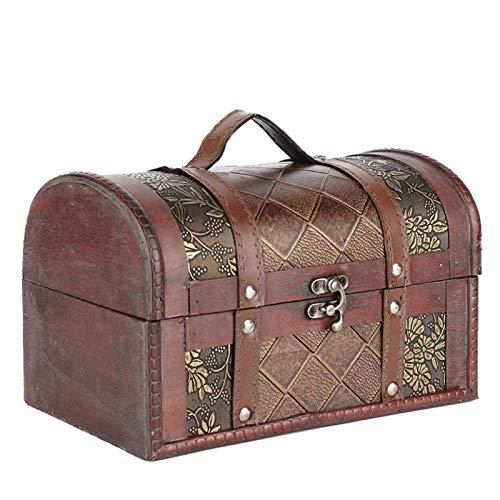Jewelry Organizer Storage Box, Vintage Wooden Storage Box ChestsBoxes & Organisers