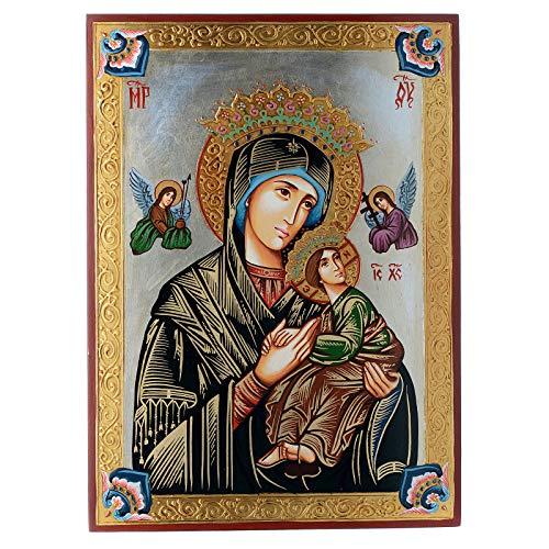 Holyart Ícono Virgen del Perpetuo Socorro Rumanía