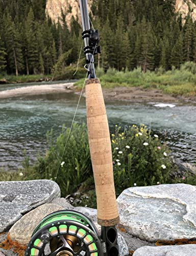 Hold My Line Fly Fishing Rod Line Holder Gear Accessories Tying Equipment for Freshwater Fly Reels