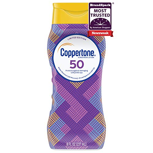 Coppertone ULTRA GUARD Sunscreen Lotion Broad Spectrum SPF 50 8 Fluid Ounce Packaging may vary