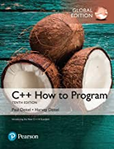 C++ How to Program Early Objects Version plus MyProgrammingLab with Pearson eText, Global Edition, Ed.10 By Paul J. Deitel...