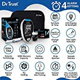 Dr TrustFully Automatic Blood Sugar Testing Glucometer Machine with 10 Strips(Black)