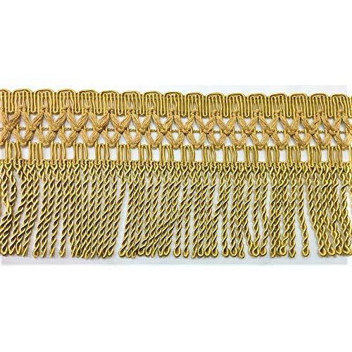 Flecos pasamanería tapicería mantas alto 10 cm -