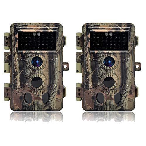 DIGITNOW! Cámaras de Caza 16MP 1080P FHD Impermeable,Gran Angular de 120° y...