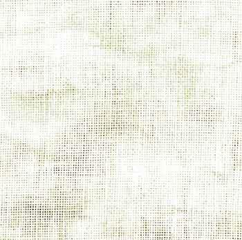 "Zweigart 28ct Vintage Cashel Linen-18x27"" Needlework Fabric - Smokey White"