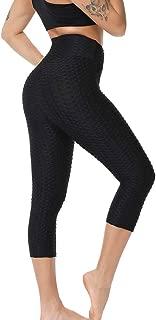 Loosnow Women Anti-Cellulite Compression Leggings Slim Fit Butt Lift Elastic Pants