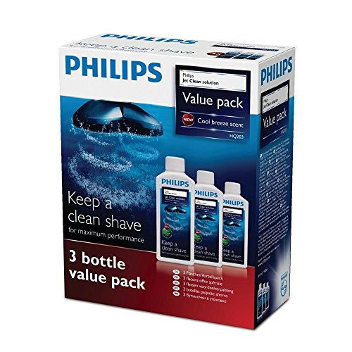 Philips jet Clean cleaning solution HQ203 (Pack of 3) - PACK OF 2 X 3