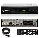 Comag HD45 Digitaler HD Sat Receiver (Full HD, HDTV, DVB-S2, HDMI, SCART, PVR-Ready, USB 2.0) inkl. HDMI Kabel, schwarz
