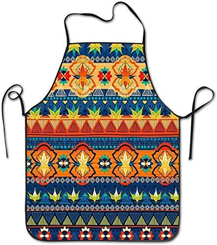 Mexico Kitchen Delantal de cocina unisex – Delantal de cocinero para cocinar, hornear, manualidades, barbacoa de jardinería