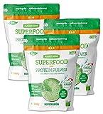 Bio Hanfprotein Pulver - Planzliches Superfood Getränk Mit Spirulina, Weizengras, Alfalfa-Gras - Omega 3 6, Eisen, Magnesium - 280 g (3)