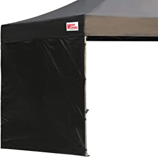 MasterCanopy Instant Canopy Tent Sidewall for 10x10 Pop Up Canopy,1 Pack (10x10 Feet, Black)